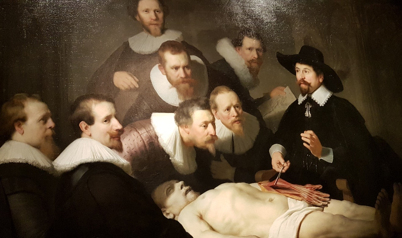 Rembrandt's The Anatomy Lesson of Dr. Nicolaes Tulp 1632