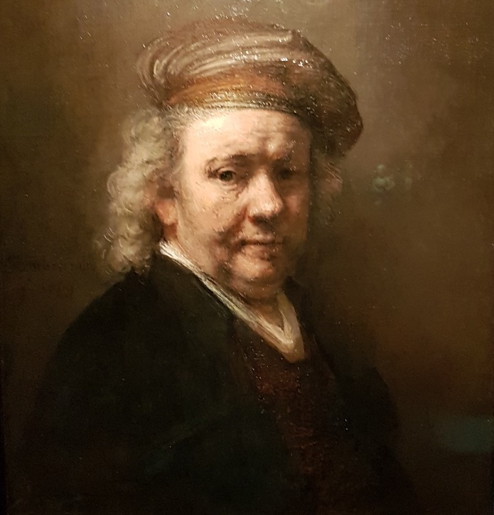 Rembrandt Self-Portrait. 1669